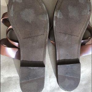 Steve Madden Shoes - Steve Madden strappy brown leather sandals S 10